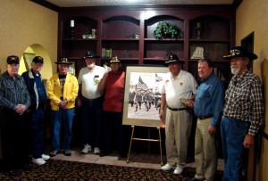 James Goldsberry, NS, Walt Titchenell, Jim Reid, Don Coshey, Billie Williams, Gene Smith and Darwin Heffner.