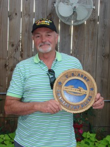 Crae Carpenter WINNER of the Charlie Troop Blue's Plaque drawing