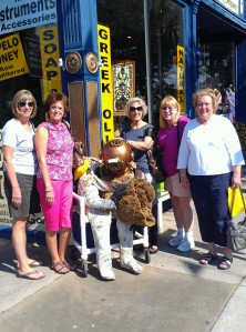 Ladies shopping trip to Apalachicola, Florida