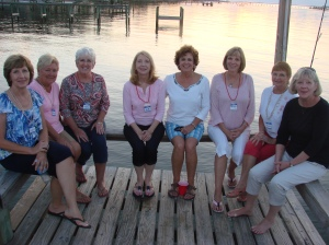 Ladies on the Dock of the Bay