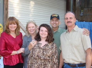 Don and Jo Coshey with Daughter Diana Mitchell-fulford, Merrick (Ricky) Grace Mitchell and Patrick Frank