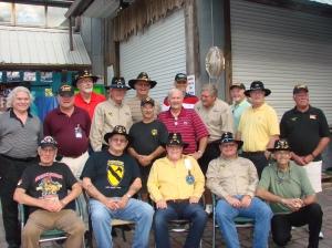 The men of Charlie Troop