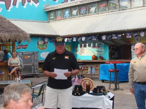Ernie Cairns reading the Names of our KIA's from 10/66 to 9/67
