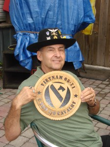Don Coshey the Winner of the Charlie Troop Plaque Drawing