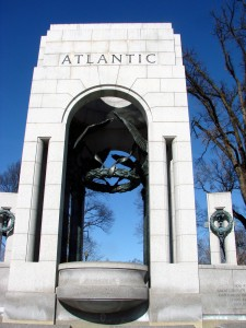 Atlantic entrance to the World War II Memorial
