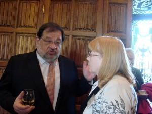 Carol and Luxembourg Ambassador Jean-Louis Wolzfeld
