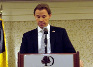 Olivier Baldauff, Deputy Chief  of Mission, Luxembourg Embassy
