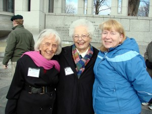 Hope Kirkendall, Dorothy Barre and Carol Bieneman