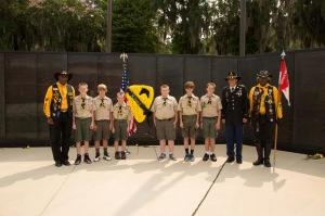 Boy Scouts and Buffalo Soldiers