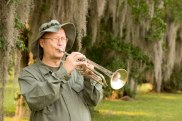 Bugler Playing Taps