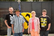 Tom and Ruth Ann Roe w/ Grandsons