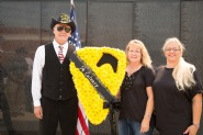 Danny Walton, Diane Walton Gleaton and Kathleen Walton Gold Star Family members