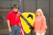 Joe and Teri Nave Gold Star Family Members C Troop
