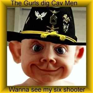 Gurls Dig Cav Men