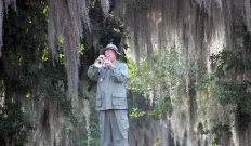 Bugler in Vietnam Jungle Fatigues