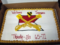 Our Thirsty-Six Cake.