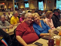 Claude and Jean Singletary on the Branson Belle.