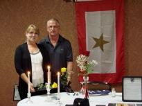Louis E. Walton GSFM's. Diane Walton-Gleaton and Richard Walton.