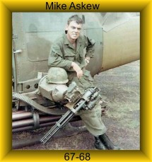 Crew Chief PFC Mike Askew