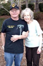 Pat Bieneman and Mrs. Cleo Hiner