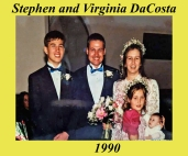 Stephen and Virginia DaCosta 1990